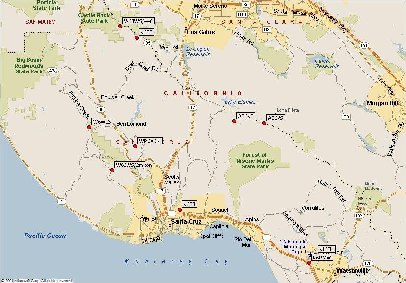 Santa Cruz County Amateur Radio Emergency Service ARES
